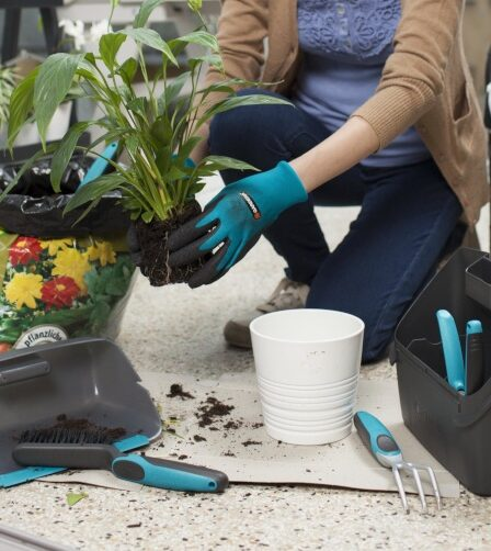 Juego de herramientas de jardín Gardena