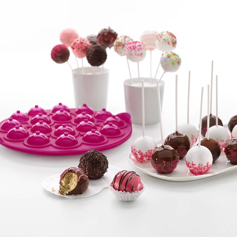 Molde cake pops para piruletas Lekue
