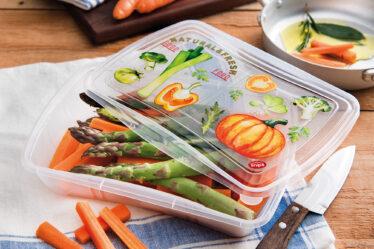 Recipiente para tijeras de verduras