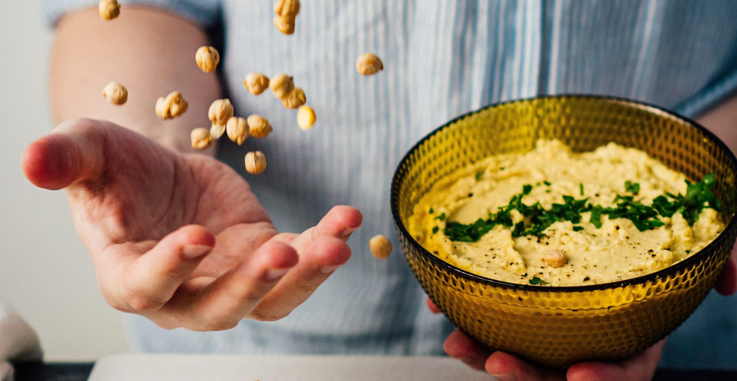 ¿Cómo hacer hummus?