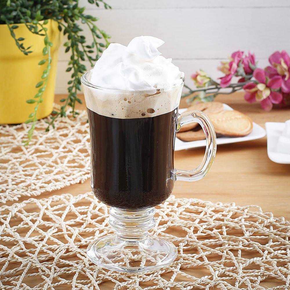 Vaso de café irlandés Cristal