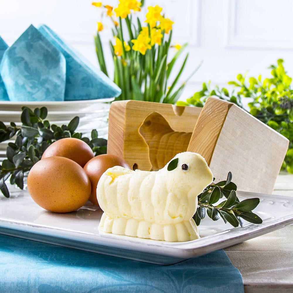 Cordero hecho con mantequilla - receta básica