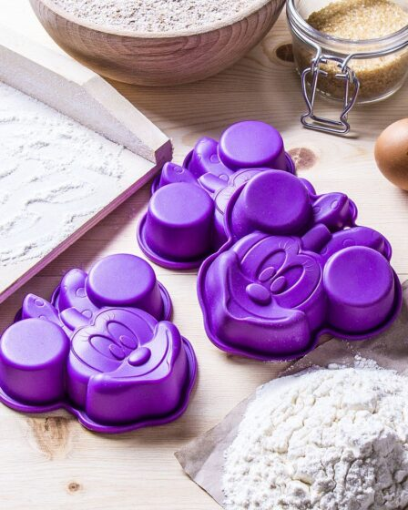 Moldes para hornear pasteles de Disney Minnie
