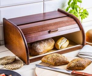Hogaza de pan de madera Odelo
