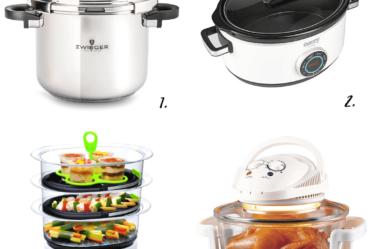 ¿Olla a presión, olla de cocción lenta o vaporera?