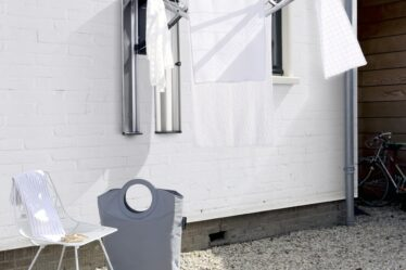 secadora de jardín con lavado