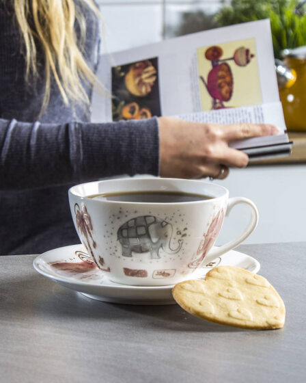 Taza de café duo