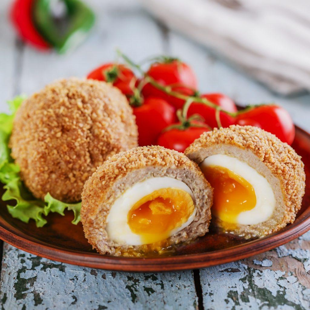 Huevos de Pascua al estilo escocés