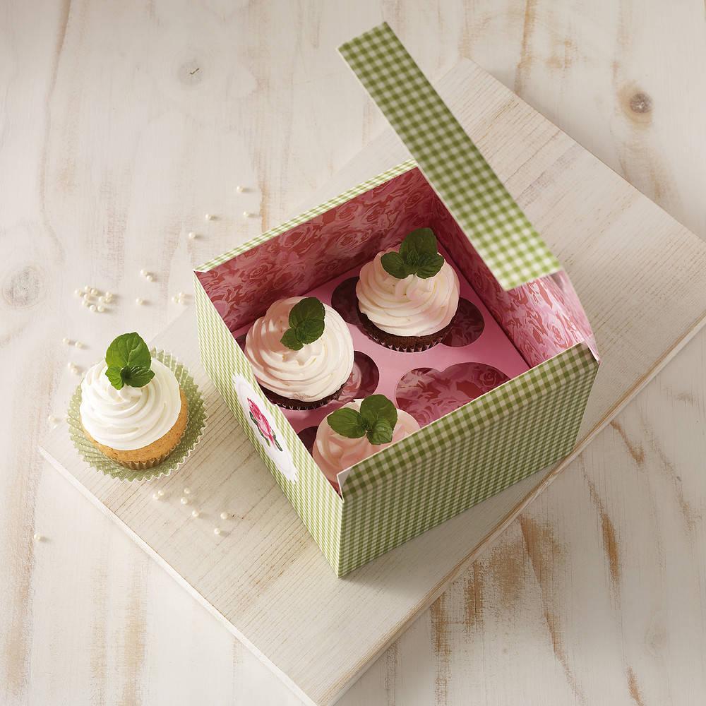 Una caja para galletas y muffins Birkamann