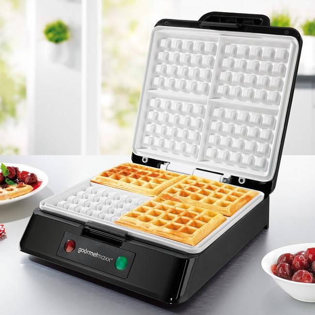 Máquina para hacer gofres gourmetmaxx