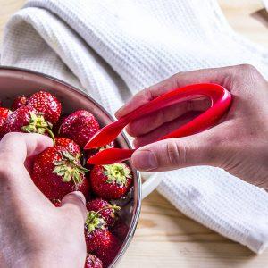 Alicates para tallos de fresa tescoma