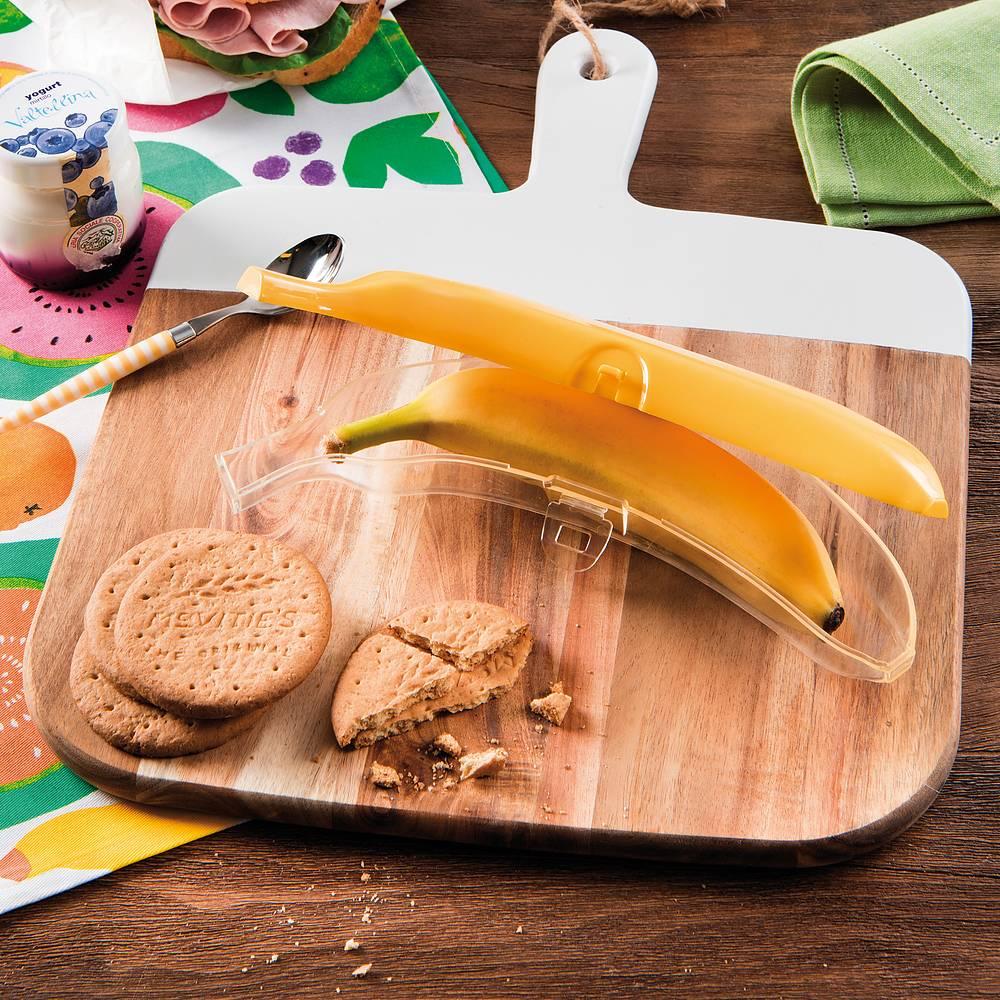 Recipiente de plátano para tijeras