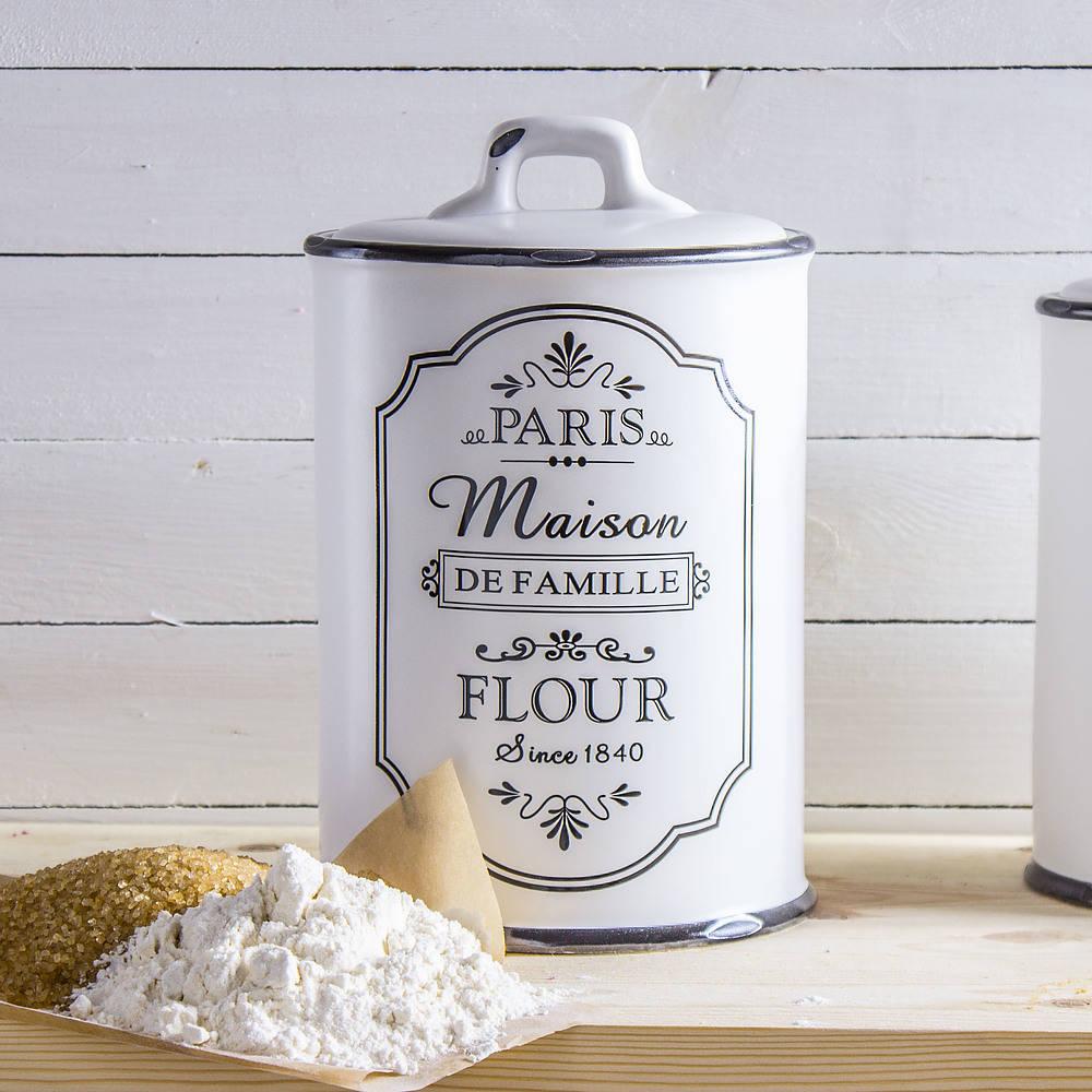 recipiente de harina de florina de cerámica