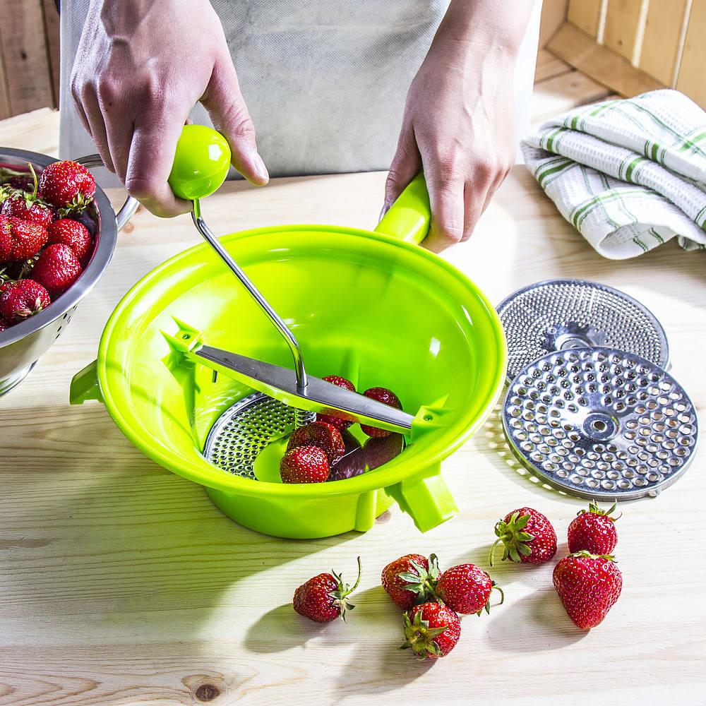 puré de frutas y verduras