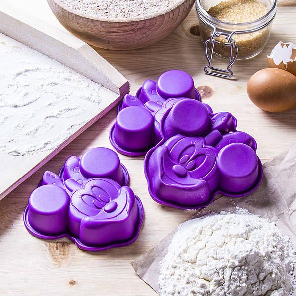 Moldes de silicona para hornear Disney Mickey Mouse