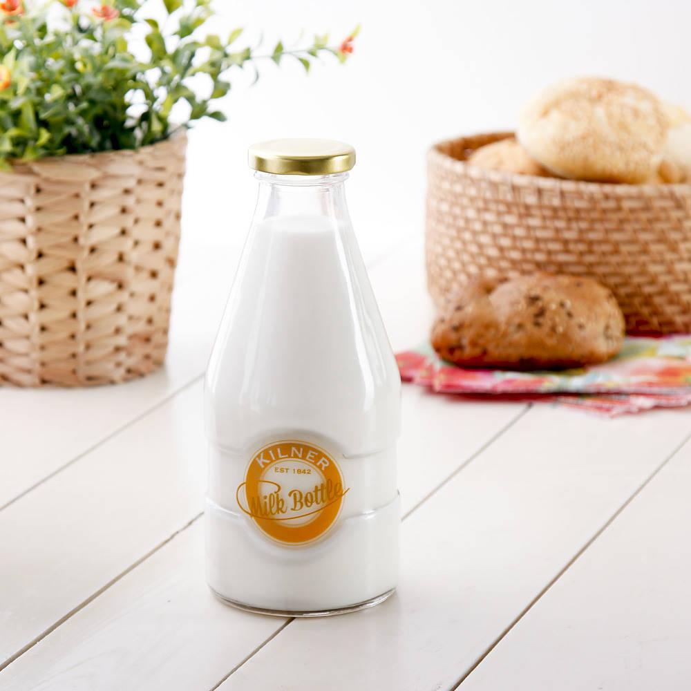 botella de vidrio para horno de leche