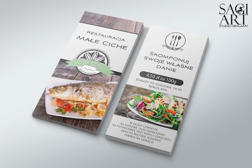 Diseño + impresión de folletos para