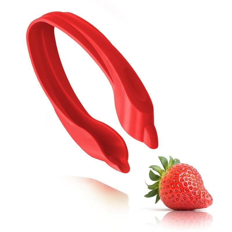 Pinza para quitar los tallos de las fresas Tomorrows Kitchen