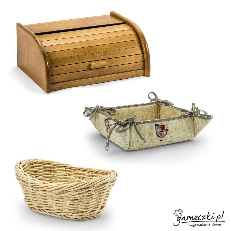 Caja de pan y cestas de pan