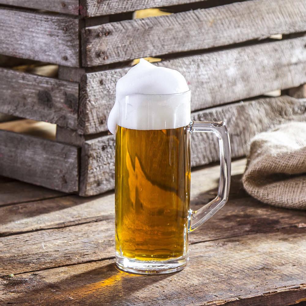 Jarra de cerveza de vidrio Ceramika Tułowice