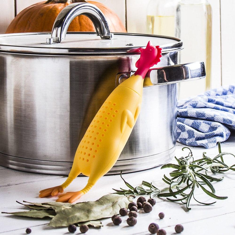 Cesta de cocción de caldo de silicona Le Crock