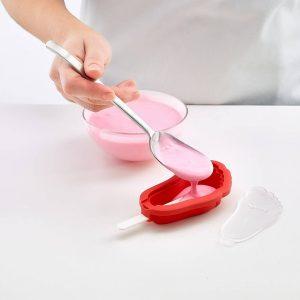 Molde de helado de silicona Lekue