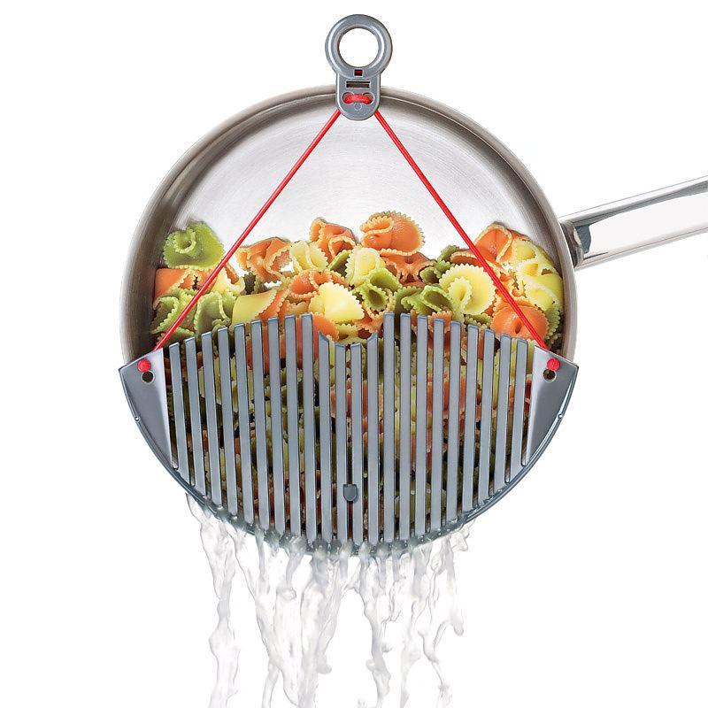 Un colador en la olla