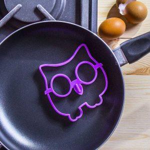 Molde de silicona para huevos fritos Búho