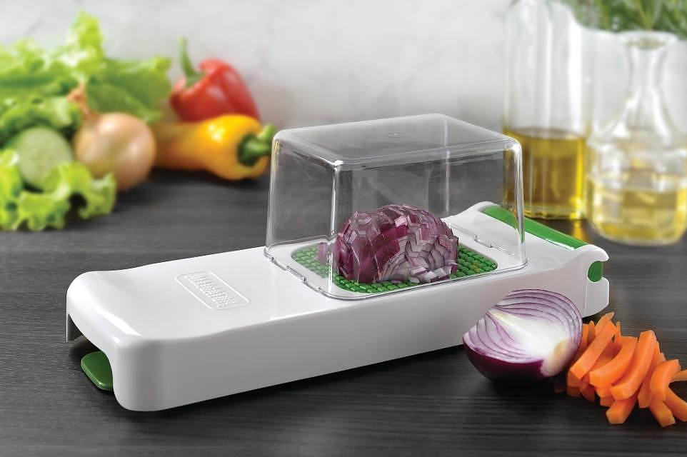 Cocodrilo de plástico para frutas y verduras