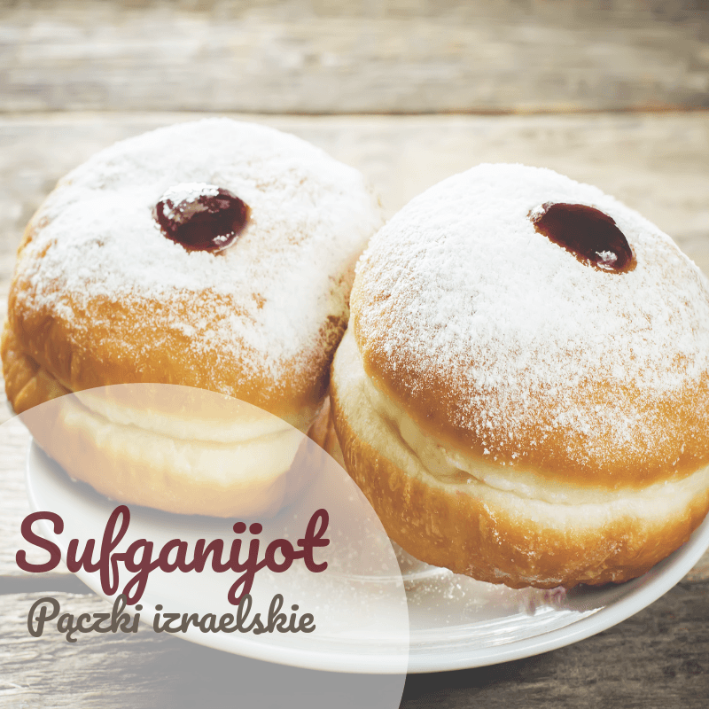 Donuts rellenos - sufganijot