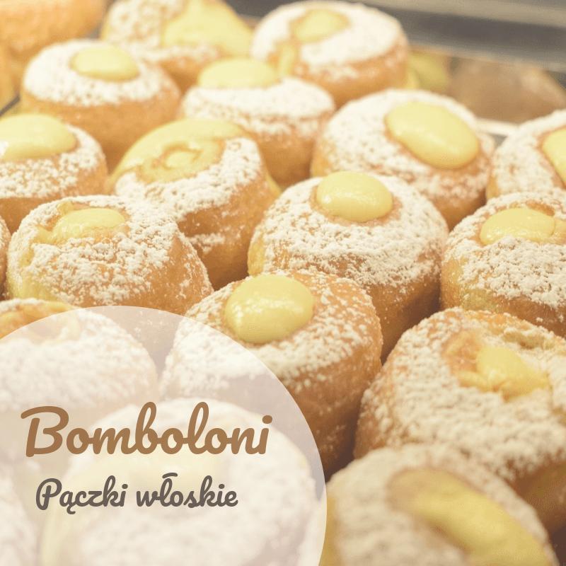 Donuts con pudín - bomboloni