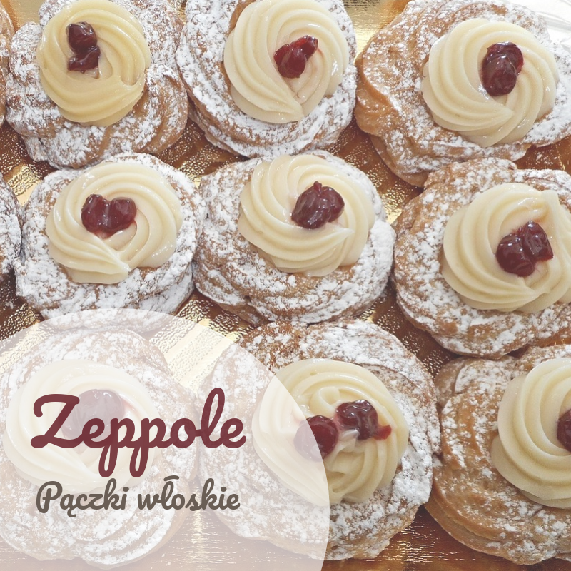 Donuts italianos con pudín - zeppole