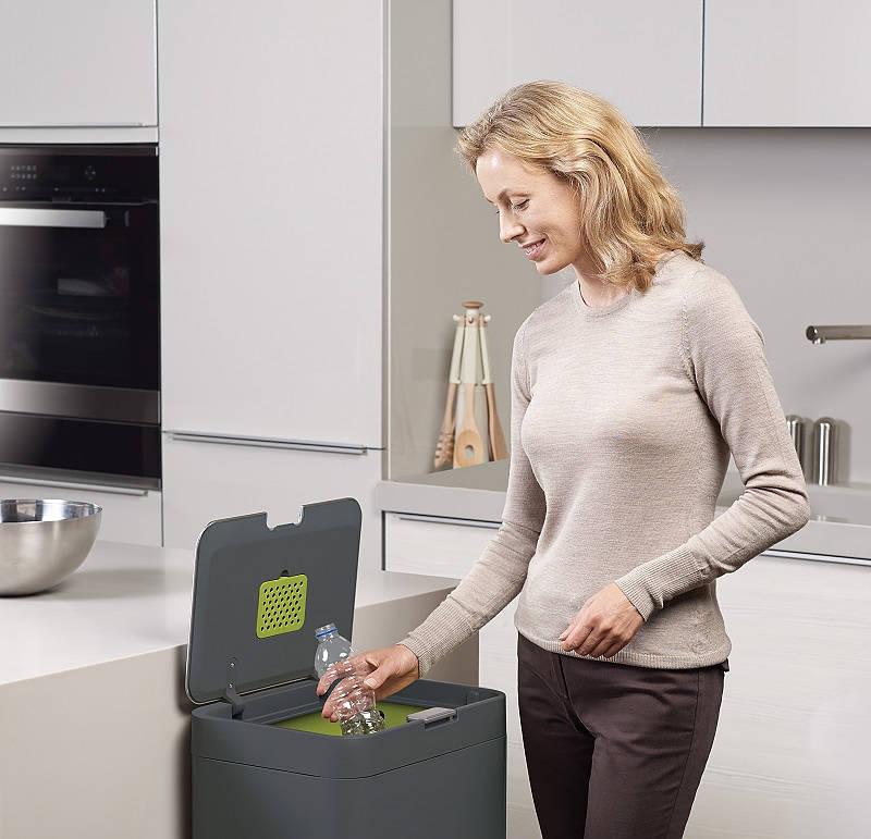 cesta de separación de residuos