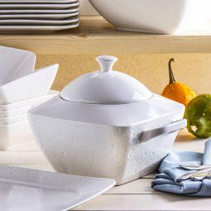 Jarrón sopa de porcelana Duo Alfa