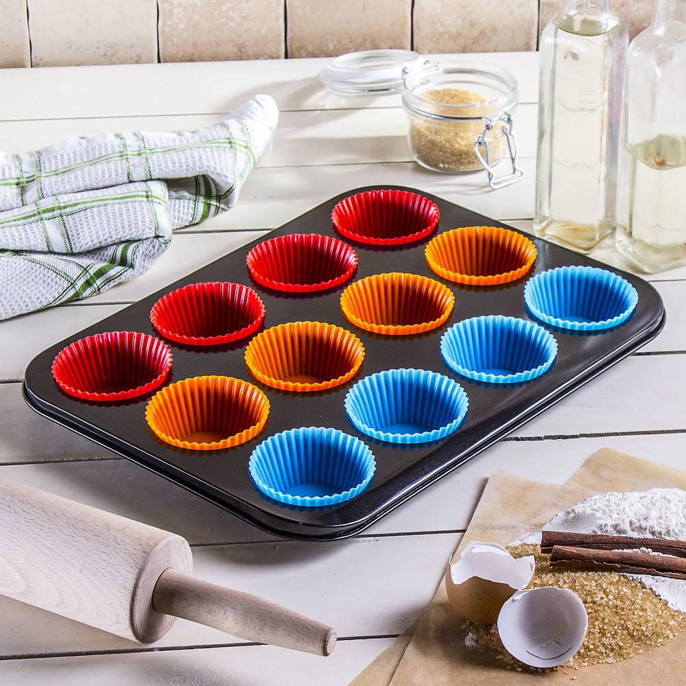 Molde para hornear pastel Brunhoff con muffins