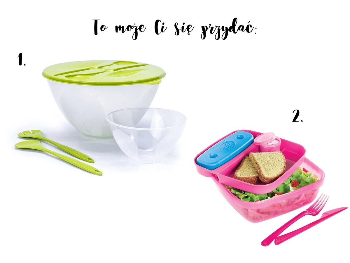 Accesorios para ensaladas para un picnic