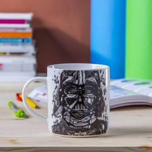 Taza de porcelana Darth Vader
