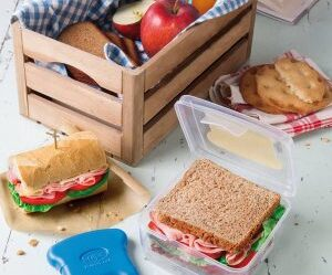 Fiambrera para sándwiches con inserto de enfriamiento Snips