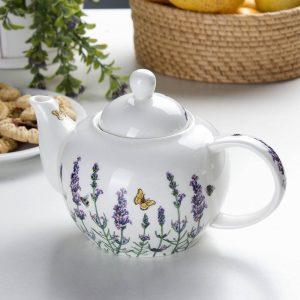 Tetera de porcelana Carmani Lavender
