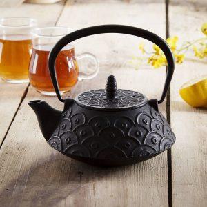 Tetera de hierro fundido para hacer té