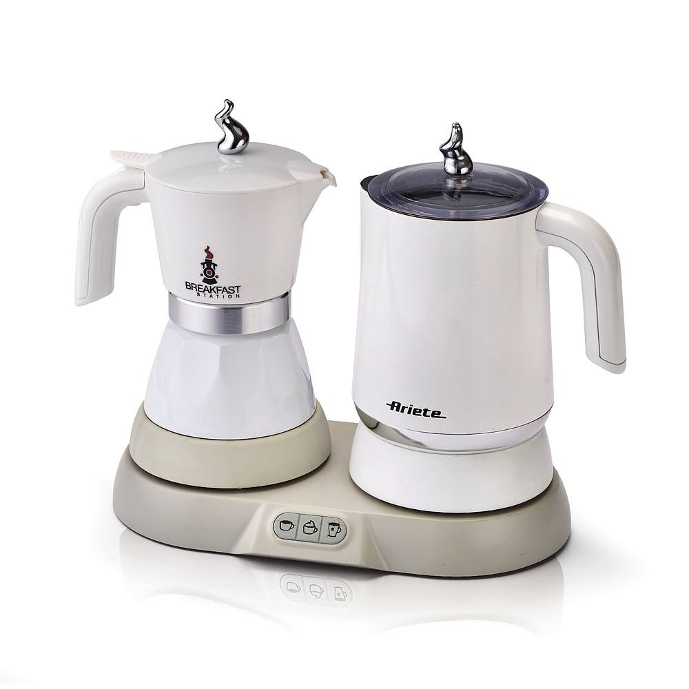 Cafetera eléctrica Ariete Breakfast con vaporizador