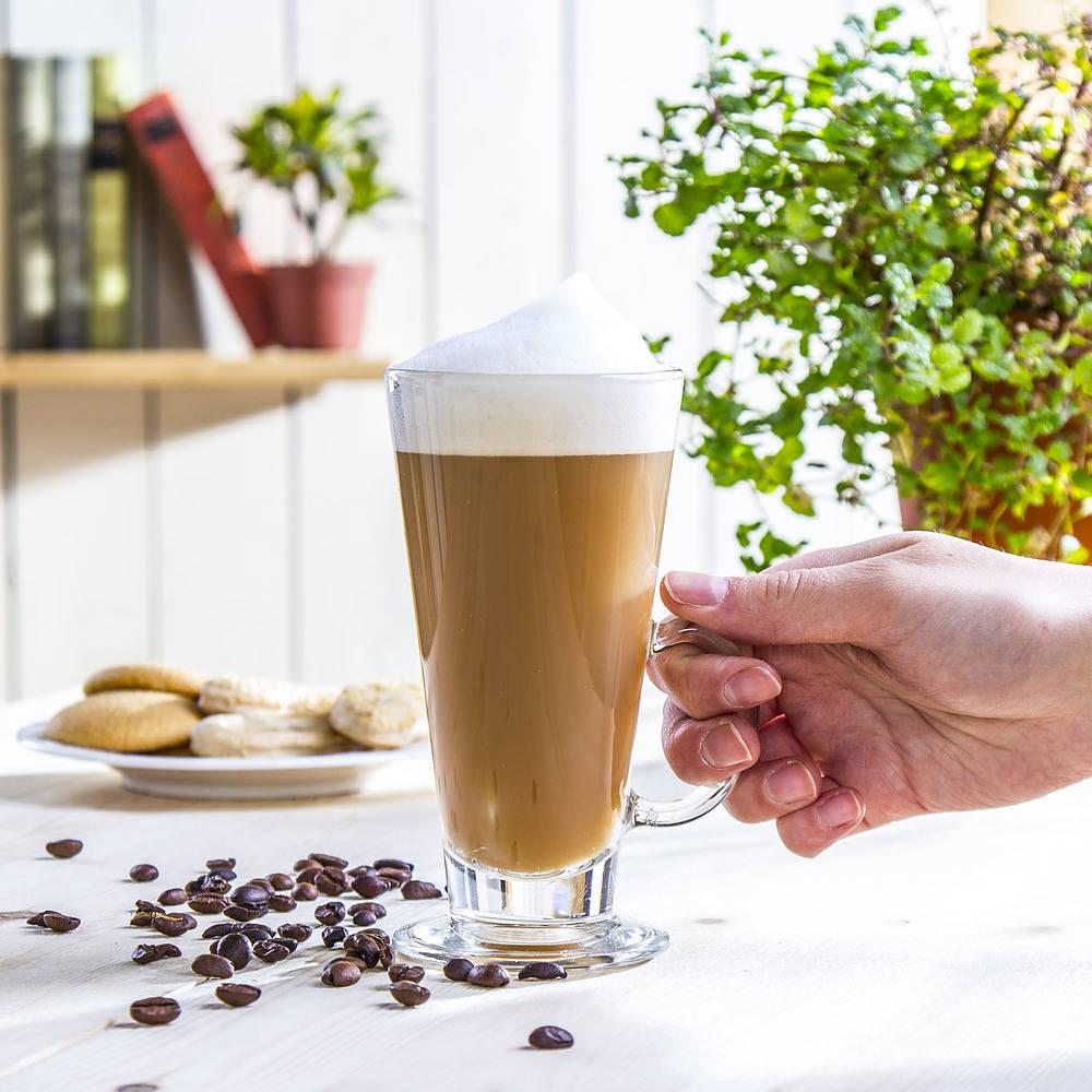 Vaso de café con leche Boston