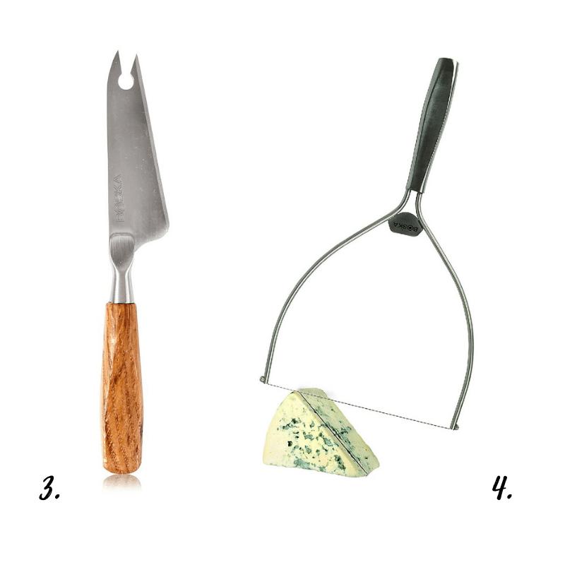 Cuchillos y cortadores de queso BOSKA