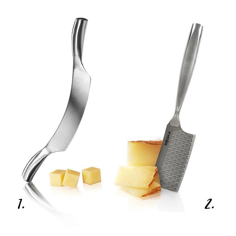 Cuchillos para queso duro Boska