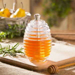 Recipiente de miel con pala Miodzio