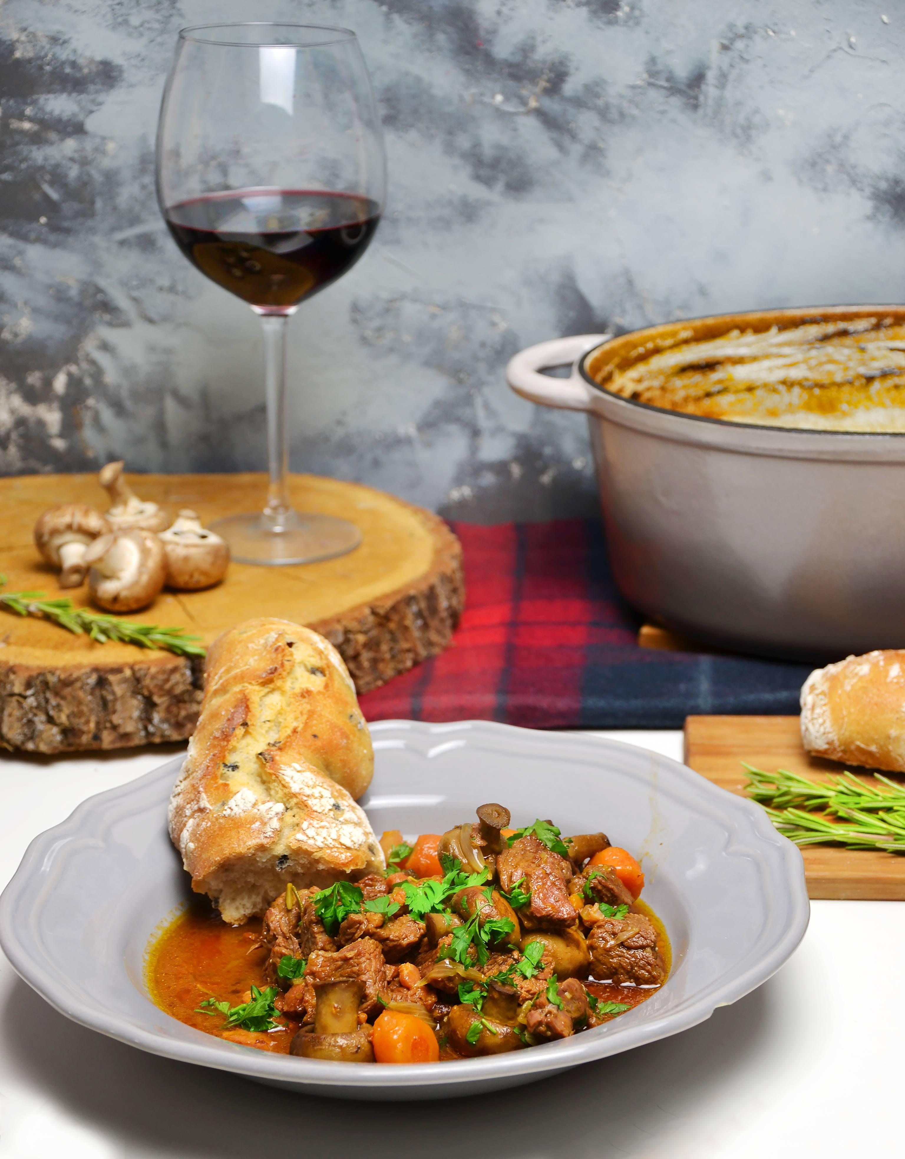 Carne bourguignon