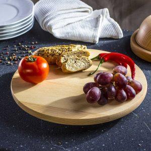 Mesa giratoria para servir quesos Odele