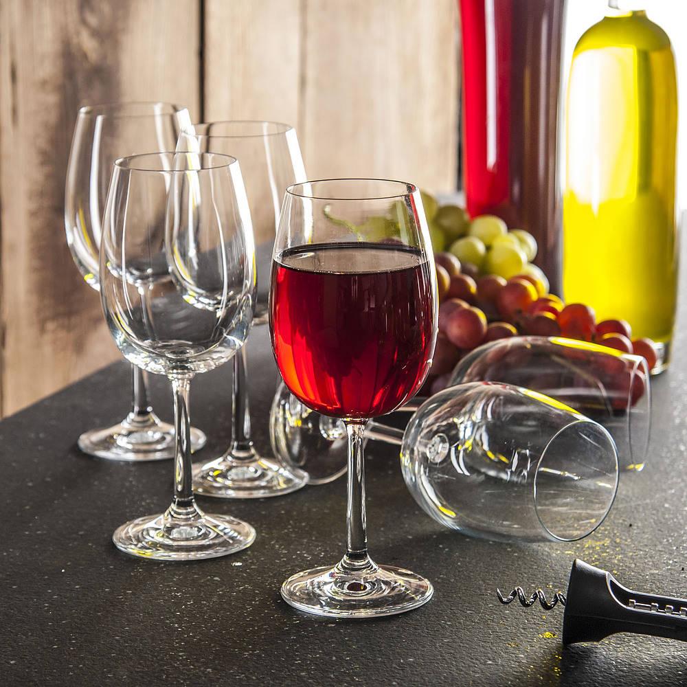 Copas de vino tinto Krosno