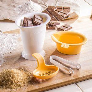 Plato de fusión de chocolate Tescoma