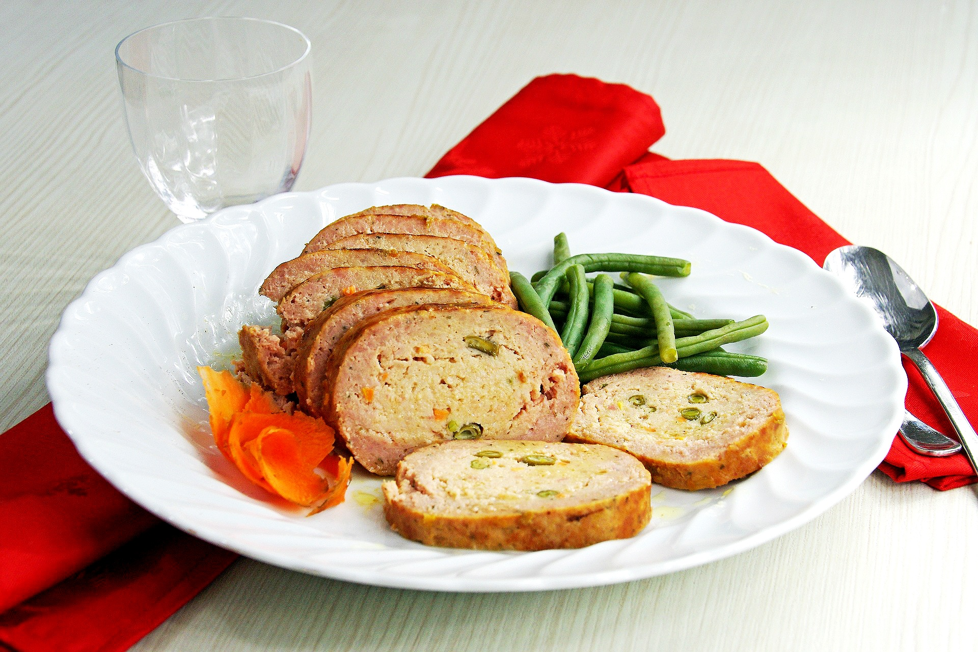Receta de lomo de cerdo asado para la cena